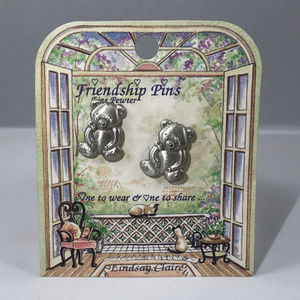 Lindsay Clair Accessories - Vintage Friendship Pins 1 to Wear & 1 to Share